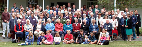 Clarke Family Descendants at our 180th reunion 4 April 2004